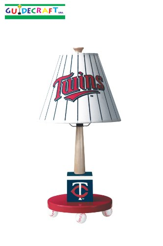 Guidecraft Minnesota Twins Table Lamp