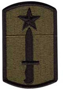 205th Infantry Brigade Subdued Patch 72140