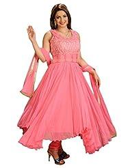 Salwar Studio Light Pink Net Designer Salwar Suit-SS2935