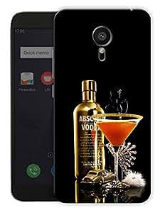 "Humor Gang Vodka And Martini Printed Designer Mobile Back Cover For ""Meizu Mx5"" (3D, Matte, Premium Quality Snap On Case)"