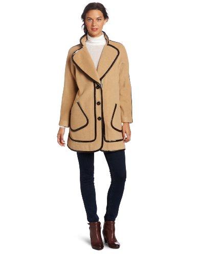 Magaschoni Women's Wool Coat