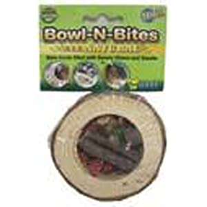 Click to buy Rabbit Toy: Ware Manufacturing Chewaliscious Bowl-N-Bites, Sm from Amazon!