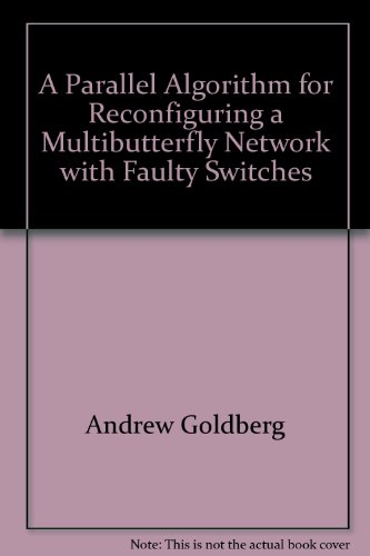 A Parallel Algorithm for Reconfiguring a Multibutterfly Network with Faulty Switches