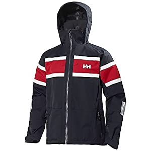Helly Hansen Mens Salt Jacket, Navy, Small by Helly Hansen