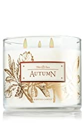 Bath & Body Works White Barn AUTUMN 3 Wick Scented Candle 14.5 oz./411 g