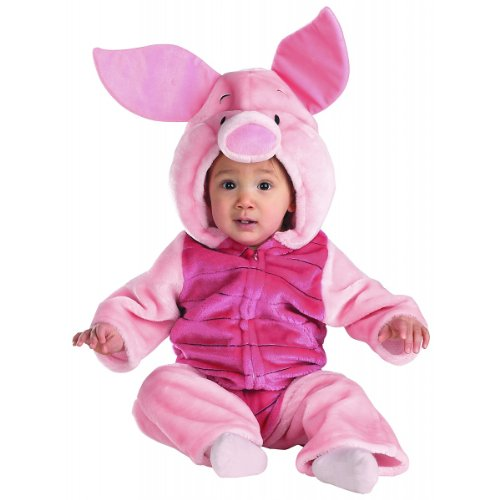 Deluxe Plush Piglet Costume - Infant