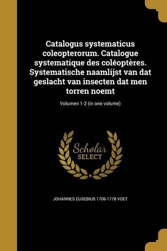 catalogus-systematicus-coleopterorum-catalogue-systematique-des-coleopteres-systematische-naamlijst-