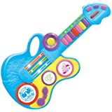 Toyshine 2 In 1 Folding Guitar Cum Piano Toy, 15 Inches, Music, Lights And Piano