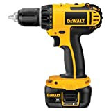 DEWALT DCD760KL 18-Volt 1/2-Inch Cordless Compact Lithium-Ion Drill/Driver Kit image