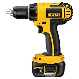 DEWALT DCD760KL 18-Volt 1/2-Inch Cordless Compact Lithium-Ion Drill/Driver Kit