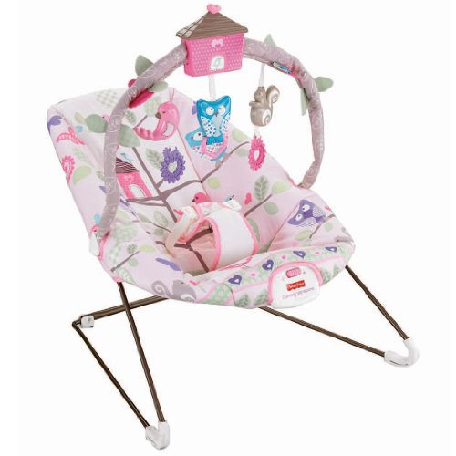 Fisher Price Tree Party Bouncer For Newborn (Pink) front-279596