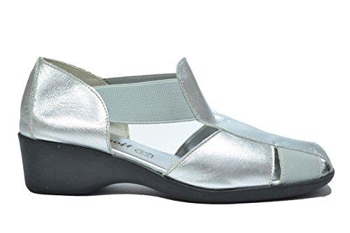 Cinzia Soft Scarpe sandali zeppa argento donna 4015 36