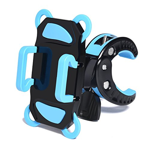 Bike Mount, No1seller Universal Cell Phone Bicycle Handlebar Baby Stroller Motorcycle Holder Cradle Mount for iPhone 7, 7 plus 6 6(+) 6S 6S plus 5S 5C 4S, Samsung S7 S6 Note 4,Nexus 5,Huawei