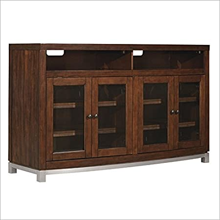 "Bell'O TC60-6449-C247 Wesleyan TV Stand for TVs up to 65"", Meridian Cherry"