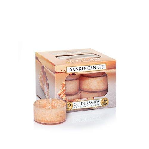 Golden Sands Tea Light Candles - Yankee Candle