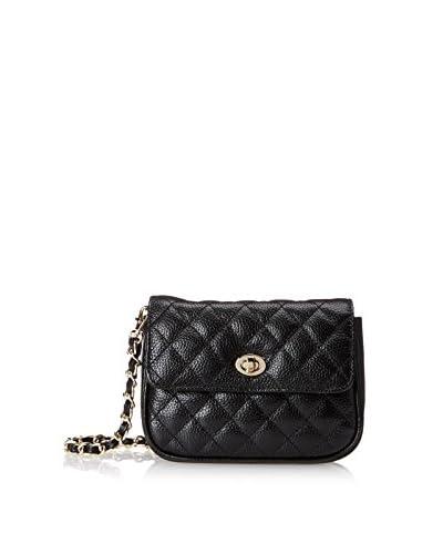 Zenith Women's Convertible Belt Bag/Crossbody, Black