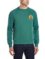 U.S.Polo.Assn. Men's Cotton Sweatshirt (8907259127460_USSS0471_XXL_Trekinggrenmela)