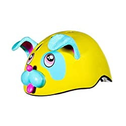 Funny product Raskulls 3-D Helmet with Shock Absorbing EPS Inner Shell, in Puppy