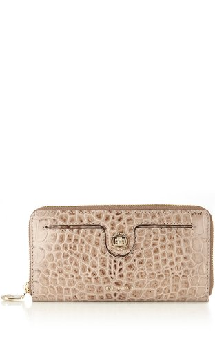 Croc Leather Purse