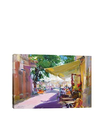Yuri Pysar Etude. Pleasant Talks Gallery-Wrapped Canvas Print