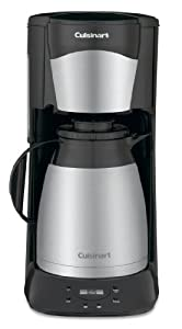 Cuisinart DTC-975BKN Thermal 12-Cup Programmable Coffeemaker, Black