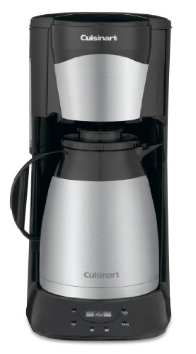 Cuisinart DTC-975BKN Thermal Coffeemaker 12-Cup Programmable Coffeemaker, Black