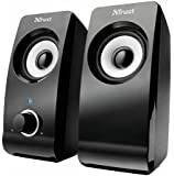Trust Remo USB 2.0 Speaker Set for PC, Laptop - Black