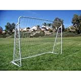 2 Soccer Goals, 7'x5' Ft. Each, 25mm Steel Tubes. With Nets and Anchor Pegs, Easy Assembly. Heavy Duty.