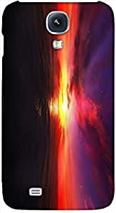 Timpax protective Armor Hard Bumper Back Case Cover. Multicolor printed on 3 Dimensional case with latest & finest graphic design art. Compatible with Samsung I9500 Galaxy S4 Design No : TDZ-24058