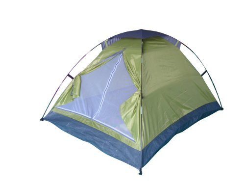Monodome Tent for 2 Persons  Carry Bag-green