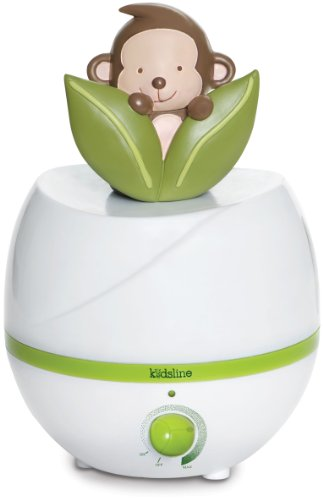 Kids Line Ultrasonic Cool Mist Humidifier, Monkey (Discontinued by Manufacturer)