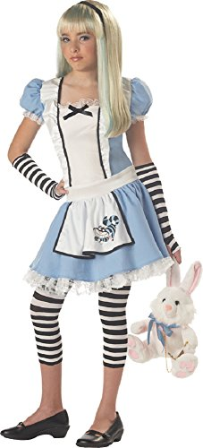 California Costume Collection Girls' Storybook Alice Tween Costume