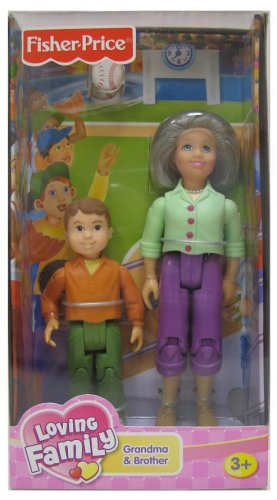 Buy Low Price Mattel Grandma and Brother Loving Family Doll Play Set Figure (B0007RIZ30)