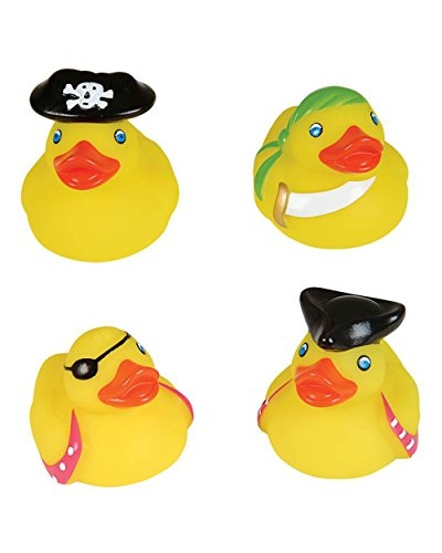 "Rhode Island Novelty 2"" Pirate Rubber Ducks 12 Pcs Per Order Novelty"