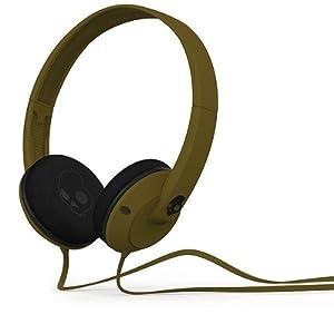 Skullcandy Uprock - Auriculares de diadema abiertos (con micrófono), verde militar  Electrónica revisión y descripción más