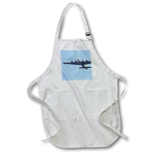 apr_97120_1 Danita Delimont - War Planes - B-17 G Flying Fortress, War plane - US50 BFR0041 - Bernard Friel - Aprons - Full Length Apron with Pockets 22w x 30l