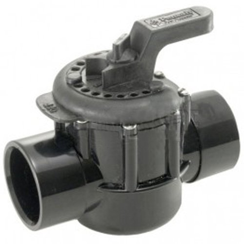 Pentair 263027 2-Way CPVC  Diverter Valve, 2 Inch, 2 1/2 Inch Slip Outside