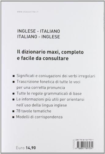 Libro maxi dizionario inglese inglese italiano italiano for Traduzione da inglese a italiano