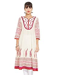 LOVELY LADY Ladies Cotton Printed KURTI - B00ZCC05Q0