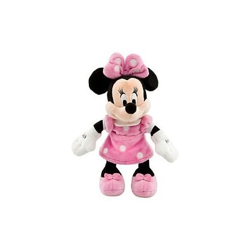 Disney Minnie Mouse Mini Bean Bag Plush - Pink Dress