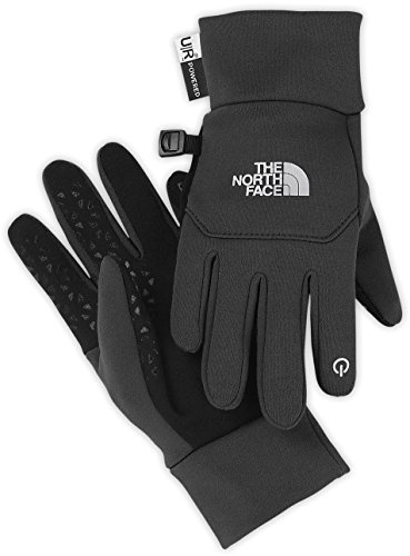 The North Face Youth Etip Glove Asphalt Grey M