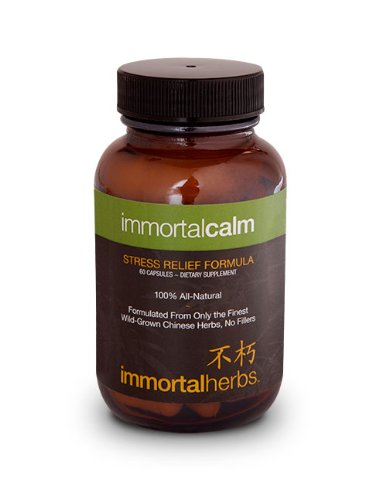 Immortal Calm - All Natural Anti-anxiety Formula.