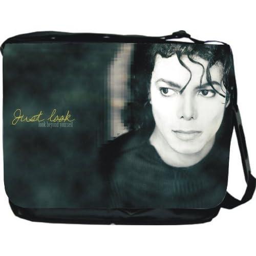 Amazon.com: Michael Jackson Messenger Bag Book Bag