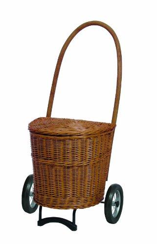 Andersen Korb Shopper Natura Einkaufsroller Trolley Terra ohne Stoff 650-4