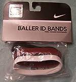 Nike Baller ID Bands - Lebron James - 3 Bands- White - LEBRON, Red - LJ 23; black - KING JAMES