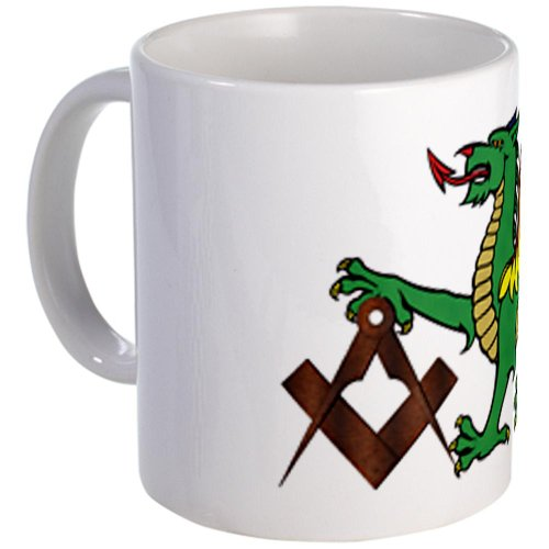 Cafepress Green Dragon Mug - Standard
