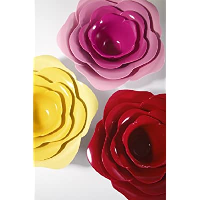 Rose Serving Bowls (Set of 4)