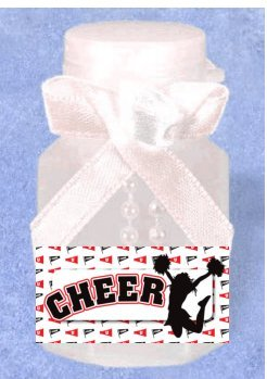 Cheerleader 24pack Birthday Party Mini Bubble Favor Kit (Cheerleader Party Supplies compare prices)