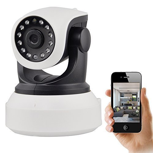 Cheap IP Camera, UOKOO 720P WiFi Security Camera Internet Surveillance Camera Built-in Microphone, P...