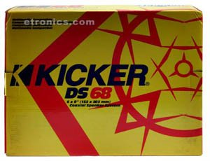 "Kicker 05Ds68 6X8"" 2-Way Speaker"